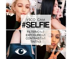 Selfie Best Vsco Filters, Insta Filters, Vscocam Filtros, Filters For Selfies, Vsco Selfie Filter, Vsco Photography, Photography Themes, Photography Filters, Photography Editing