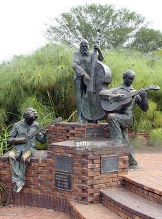 A statue in the city square. Pietersburg (now Polokwane) capital of the Limpopo province, South Africa.