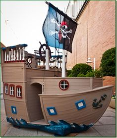 pirate playhouse