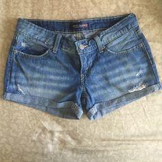 Blue denim Levis shorts Perfect condition! Levi's Shorts Jean Shorts