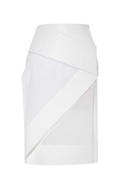 Orbit Belted Skirt by Dion Lee for Preorder on Moda Operandi