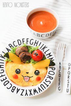 Pikachu Omurice