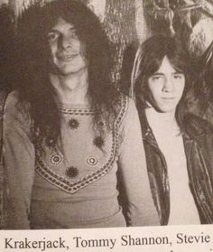 A young Stevie Ray and Tommy Shannon