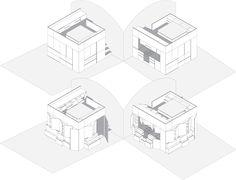 Mario Ambrogi, Francesco Busi · Cube 1.0. Firenze, Italy · Architettura italiana