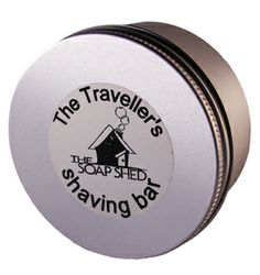 Travel Shaving Soap - for the seasoned traveller