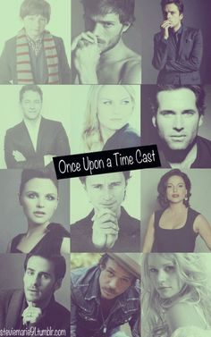 Glamour shots of the beautiful #OUAT cast. (Henry, Graham, Hatter, Charming, Emma, Pinocchio, Snow, Rumple, Regina, Hook, Neal, & Belle.)