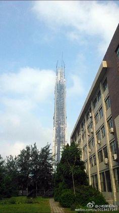 TIANJIN   Goldin Finance 117   597m   1957ft   117 fl   U/C - Página 93 - SkyscraperCity
