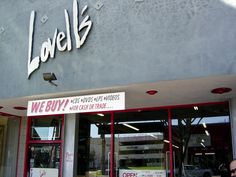 do you collect legendary vinyls, then check out LOVELL's. most amazing collection of music west of Hollywood's Amoeba Music.