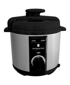 WOLFGANG PUCK BPCRM800B 8 QUART RAPID ELECTRIC PRESSURE COOKER BLACK