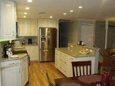 DIY split entry kitchen remodel   Split Foyer Kitchen Reno - Houzz
