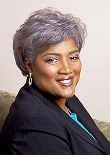 Donna Brazile - Democratic political strategist; first African American to direct a major presidential campaign .... I plan to be next.:)