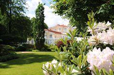 Gartenblick im Strandhotel