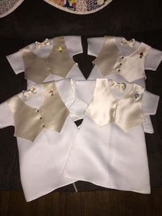 Large boy Angel Gowns made for the tiniest of angels from a donated wedding dress. Made by Debbi Guenzel for AllisonAngelGowns