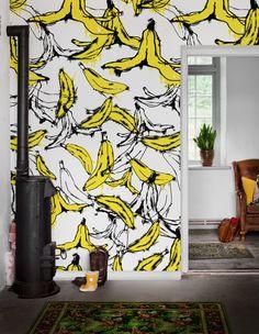 Wandbild Go Banana von MR PERSWALL-2079