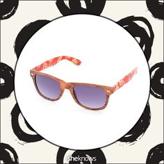 Check out these Ray-Ban look-alikes, and stop by @sheknows site for where to buy them. Those light and sweet go-to shades you can sport all summer long. (Zumiez, $13)