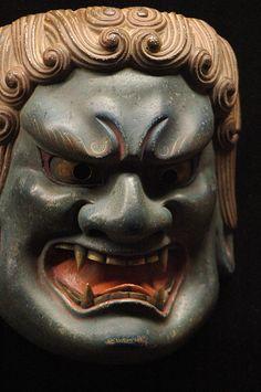 Noh Mask: Fudo