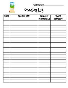 I originally created this to be stapled into my kiddos daily folders, but it can be downloaded/ printed to your needs. :)...