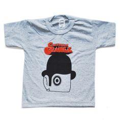 camiseta infantil - Clockwork Orange