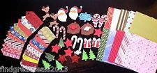 70 PC. Holiday Christmas Lot W/ Foam Stickers, Gift Tags, 6 x 6 Scrapbook Paper #christmas_auction_lot #christmascrafts #holiday_crafts #scrapbook_paper #foamstickers #christmasgifttags #gift_tags #product_labels #gift_labels #holidaypaper #kids_crafts #stickers #christmas_patterns #depotdeals #ebay