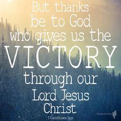 1 Corinthians 15:57  #inspiration #verse #bible #words