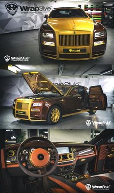 Awesome Royal Rolls-Royce Phantom by Mansory and WrapStyle