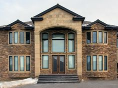 Know more about Paloma Stone Products, Edmonton stone contractors & their natural, manufactured stone & veneer products. Masonry Contractors, Manufactured Stone Veneer, Stone Masonry, Mansions, House Styles, People, Products, Home Decor, Mansion Houses