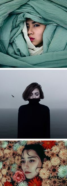 Photography by Mehran Djojan // portrait photography // surreal photos