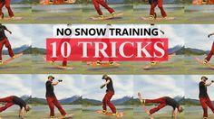 10 Snowboard Tricks for Pre Season Training - 10 Snowboard Tricks for Pre Season Training Snowboard Tricks for Pre Season Training Informat - Snowboarding Tips, Ski And Snowboard, Snowboard Equipment, Mind Reading Tricks, Destinations, Knee Injury, Freestyle, Snow Skiing, Plein Air