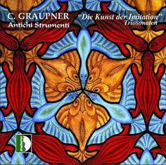 "2004 Antichi Strumenti - C. Graupner: ""Die Kunst der Imitation"" Triosonaten [Stradivarius STR-33632] original artworks: M.C. Escher - Fish / Duck / Lizard (No. 69) (1948) #albumcover"