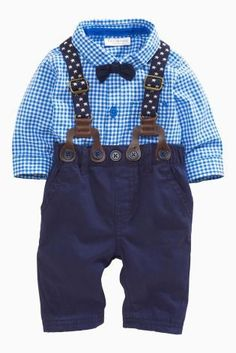 New 2016 autumn gentleman baby boy clothing set infant newborn baby clothes long sleeved shirt + tie + overalls - Lincoln David - [post_tags Outfits Niños, Baby Outfits Newborn, Baby Boy Outfits, Kids Outfits, Baby Newborn, Fashion Kids, Baby Boy Fashion, Baby Boy Suspenders, Baby Boy Clothing Sets