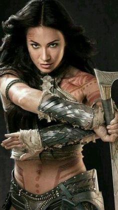 Warroir Woman....she looks fierce !!!