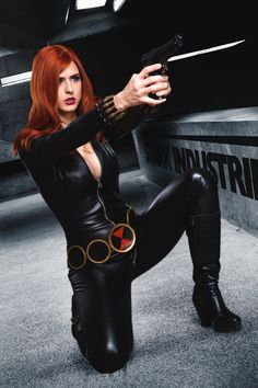 Black Widow by JubyHeadshot