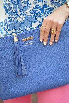 GiGi New York | Southern Curls & Pearls Fashion Blog | Iris Uber Clutch