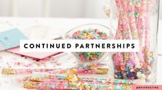 Why continued partnerships are key between blogs and brands.