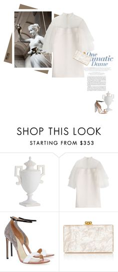 """""""Ebe"""" by theitalianglam ❤ liked on Polyvore featuring Arteriors, Valentino, Francesco Russo, Edie Parker, valentino, mythology, FrancescoRusso, MostLovedCharacter and ebe"""