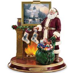 Thomas Kinkade Illuminated Santa Claus Tabletop Figurine: Light Up The Holidays by The Bradford Exchange Bradford Exchange http://www.amazon.com/dp/B001L8JFY2/ref=cm_sw_r_pi_dp_y51Kub1QWQXTD