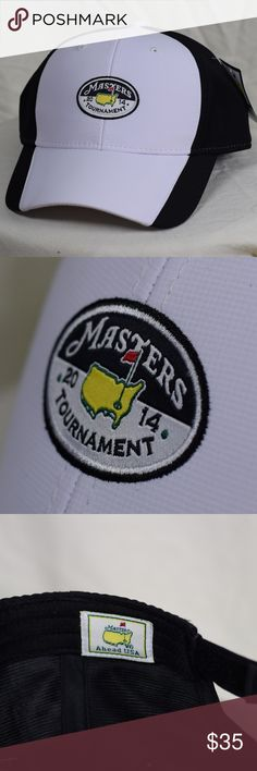 Authentic Master Golf Tournament Hat Authentic Master Golf Tournament Hat Never worn.  Purchased at The Augusta National Augusta National Masters Accessories Hats