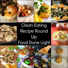 Great recipes to start eating healthy in the New Year - clean eating recipe round up www.fooddonelight.com