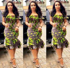 Most stylish collection of ankara short gown styles of 2019 trending today, try these short ankara gown styles Short African Dresses, Ankara Short Gown Styles, Short Gowns, African Print Dresses, African Fashion Ankara, Latest African Fashion Dresses, African Print Fashion, African Traditional Dresses, Peplum Tops