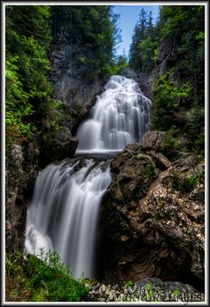 Crystal Cascade in Pinkham Notch, NH, courtesy of Chris Whiton.