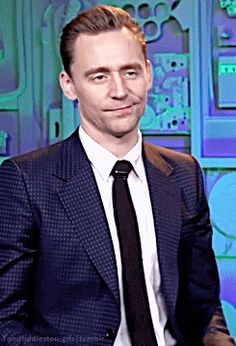 You're the cutest thing on earth. Gif-set (by tomhiddleston-gifs): http://maryxglz.tumblr.com/post/158471634537/tomhiddleston-gifs-youre-the-cutest-thing-on
