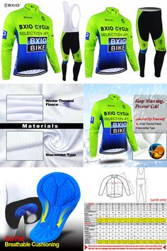 [Visit to Buy] Bxio Winter Thermal Fleece Cycling Jersey Ciclismo Bike Bicicleta Cycle Clothing Mountain Bike Long Sets Wielerkleding Top Rate #Advertisement
