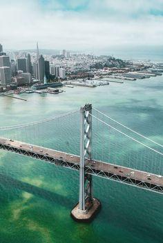 Flying Over The Bay Bridge| © Connor Surdi | More