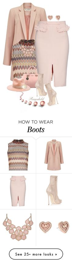 """""""Pink Pencil Skirt"""" by ragnh-mjos on Polyvore featuring Miss Selfridge…"""