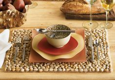 Ochre River Stone Placemats