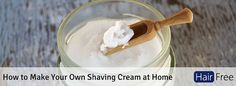 How to Make Your Own Shaving Cream at Home small