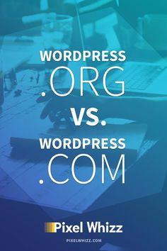 http://wordpress.com vs http://wordpress.org pinterest image