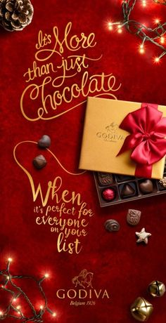 Outdoor/Out of Home More Than Just Chocolate 2 for Godiva by Pereira & O\'Dell - Ahead of the 2015 holiday season Pereira & O'Dell has rolled ou...
