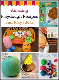 (FSPDT): Amazing Playdough Recipes and Play Ideas {the kids co-op 5-8}