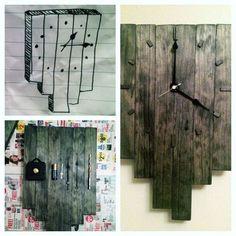DIY wood clock